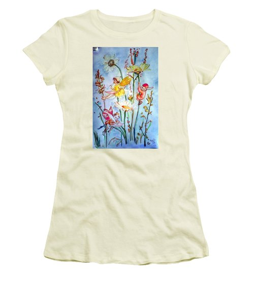 Fairy Babies Women's T-Shirt (Athletic Fit)