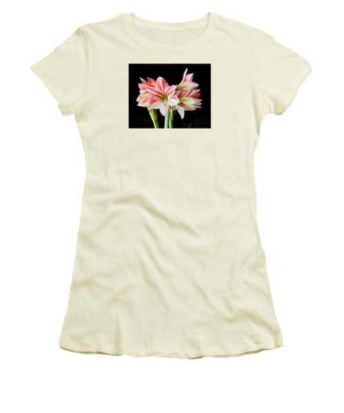 Fairyland Amaryllis  Women's T-Shirt (Junior Cut) by Janis Nussbaum  Senungetuk