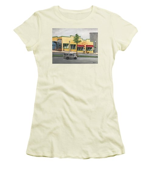 Falls Church Women's T-Shirt (Junior Cut) by Victoria Lakes