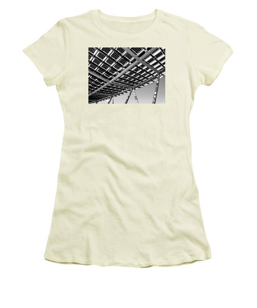 Farming The Sun - Architectural Abstract Women's T-Shirt (Athletic Fit)