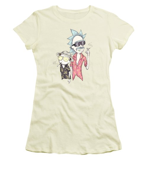Fear And Loathing In Schwift Vegas Women's T-Shirt (Athletic Fit)