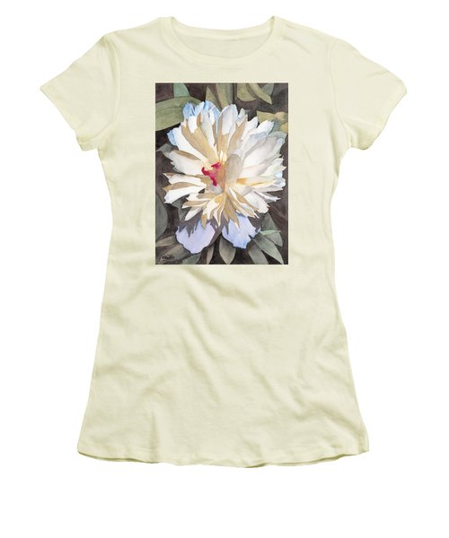Feathery Flower Women's T-Shirt (Athletic Fit)