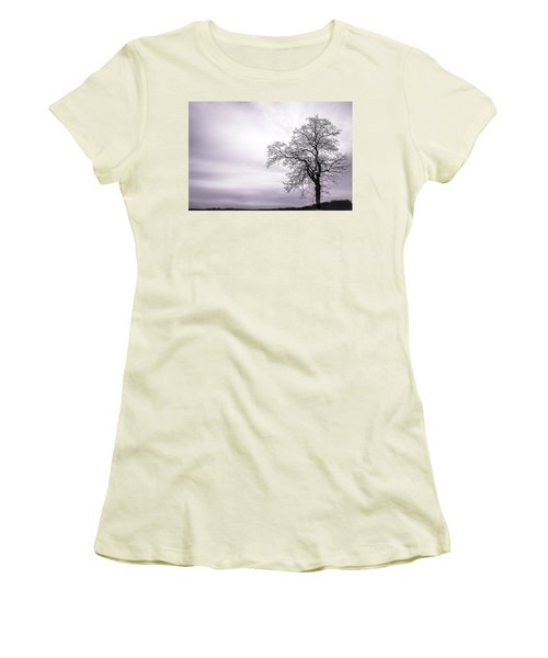 February Morning Women's T-Shirt (Athletic Fit)