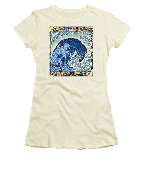 Femenine Wave Women's T-Shirt (Athletic Fit)