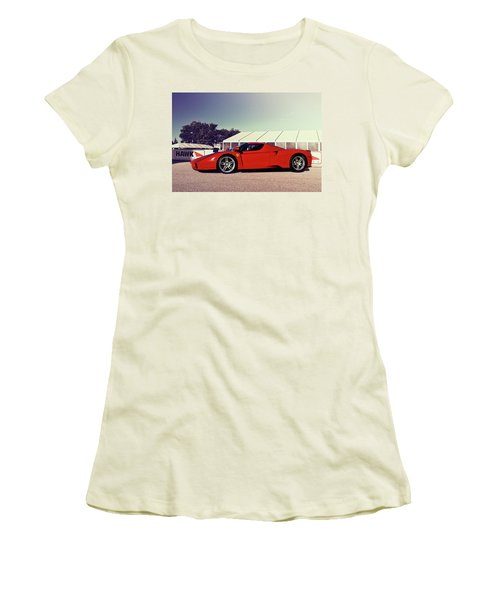 Ferrari Enzo Women's T-Shirt (Athletic Fit)