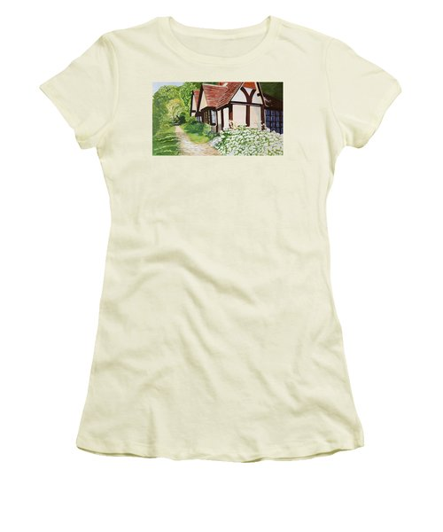 Ferry Cottage Women's T-Shirt (Athletic Fit)