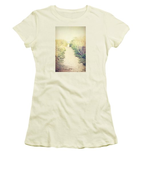 Women's T-Shirt (Junior Cut) featuring the photograph Finding Your Way by Trish Mistric