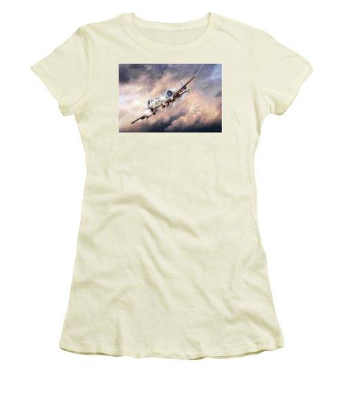 Firestorm Women's T-Shirt (Athletic Fit)