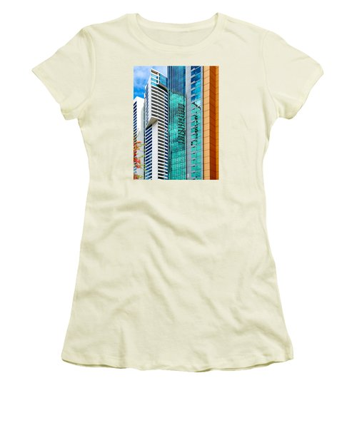 Fla-150531-nd800e-25116-color Women's T-Shirt (Junior Cut) by Fernando Lopez Arbarello