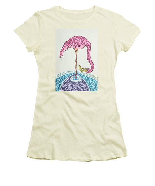 Flamingo I Women's T-Shirt (Athletic Fit)