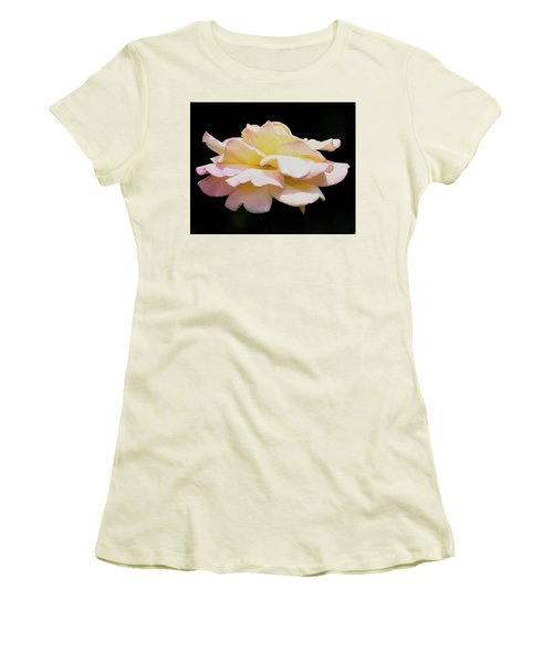 Floating Rose 3894 Women's T-Shirt (Athletic Fit)