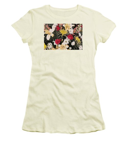Floral 2 Women's T-Shirt (Athletic Fit)