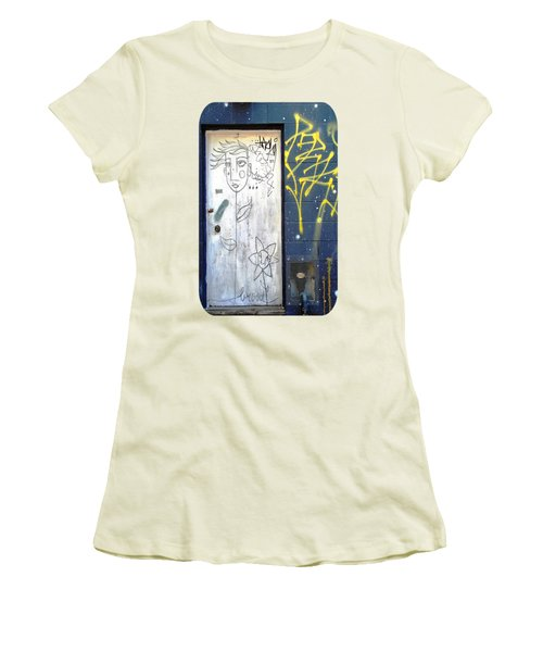 Women's T-Shirt (Junior Cut) featuring the photograph Flower Faces by Ethna Gillespie