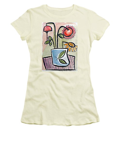 Flower Jug Women's T-Shirt (Athletic Fit)