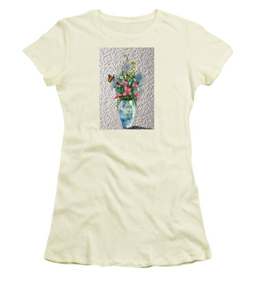 Flower Study Three Women's T-Shirt (Junior Cut)