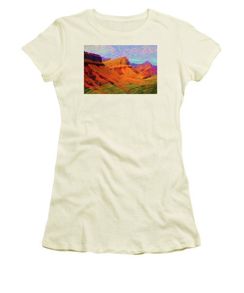 Flowing Rock Women's T-Shirt (Athletic Fit)