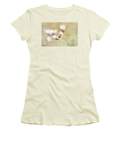 Fluffy Thistle Women's T-Shirt (Athletic Fit)