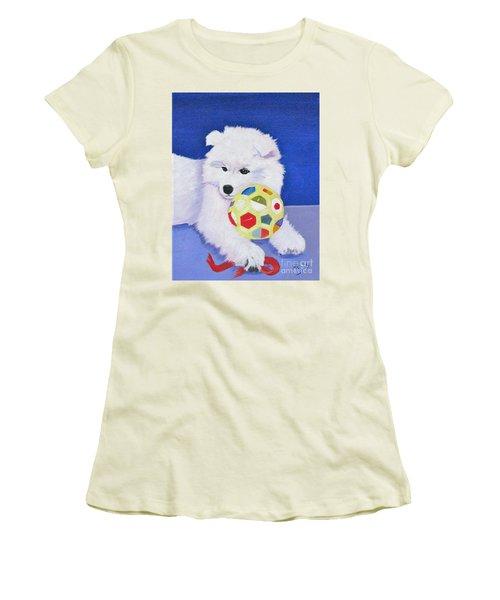 Fluffy's Portrait Women's T-Shirt (Athletic Fit)