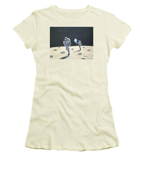 Fly A Kite Women's T-Shirt (Athletic Fit)