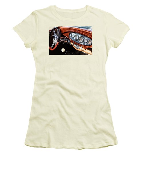 Women's T-Shirt (Junior Cut) featuring the photograph Ford Coupe IIi by Brad Allen Fine Art