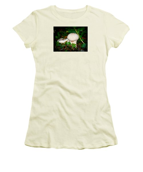 Forest Floor Mushroom Women's T-Shirt (Athletic Fit)