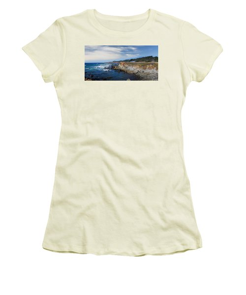 Fort Bragg Mendocino County California Women's T-Shirt (Junior Cut) by Wernher Krutein