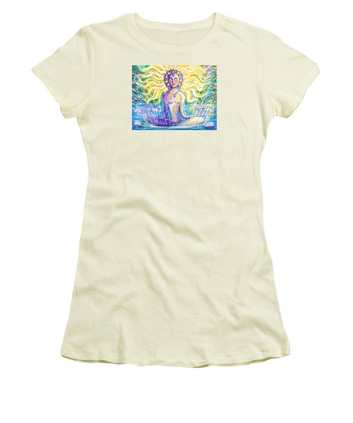 Fountain Of Youth Women's T-Shirt (Junior Cut) by Anya Heller
