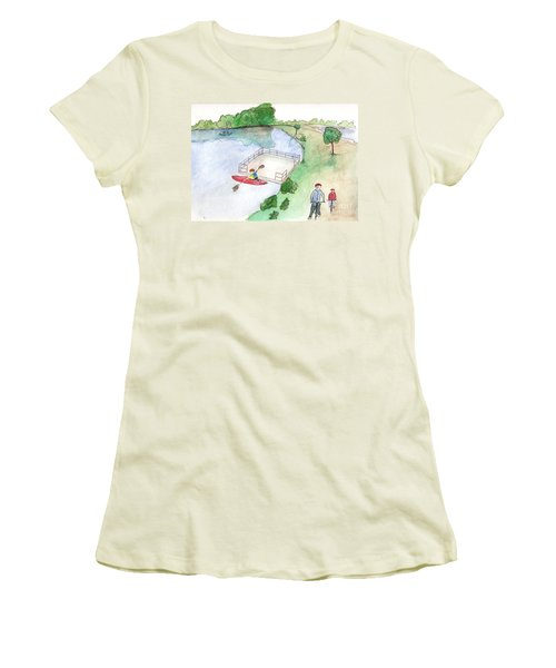Free Time Women's T-Shirt (Athletic Fit)