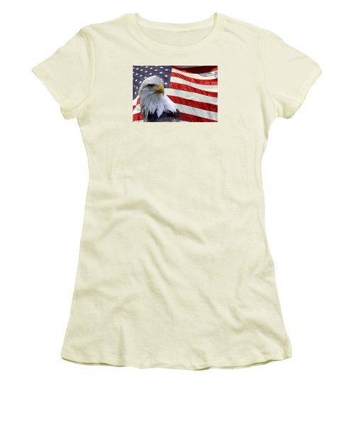 Freedom Women's T-Shirt (Athletic Fit)