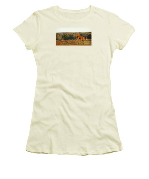 Freedom In The Late Afternoon Women's T-Shirt (Athletic Fit)