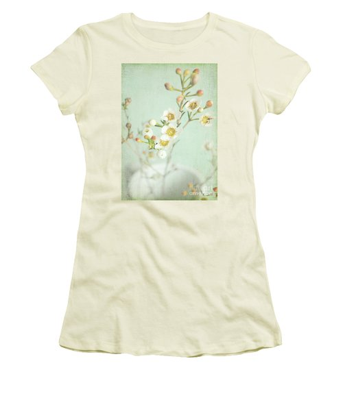 Freesia Blossom Women's T-Shirt (Junior Cut) by Lyn Randle
