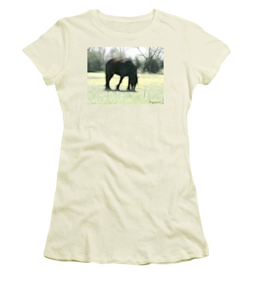 Women's T-Shirt (Junior Cut) featuring the photograph Friend Of Distinction  by EricaMaxine  Price