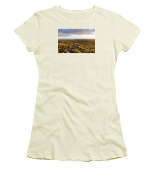 From The Black Mountain Women's T-Shirt (Athletic Fit)