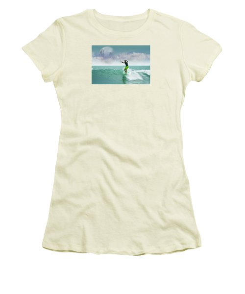 Funday Sunday Women's T-Shirt (Junior Cut) by William Love