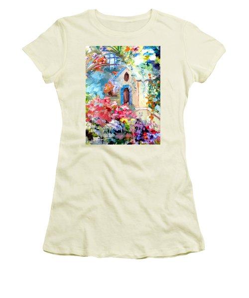 Garden Door  Women's T-Shirt (Athletic Fit)
