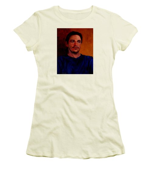 Garrett Women's T-Shirt (Junior Cut) by Connie Schaertl