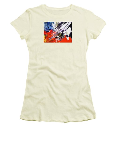 Genesis Women's T-Shirt (Junior Cut) by Ralph White
