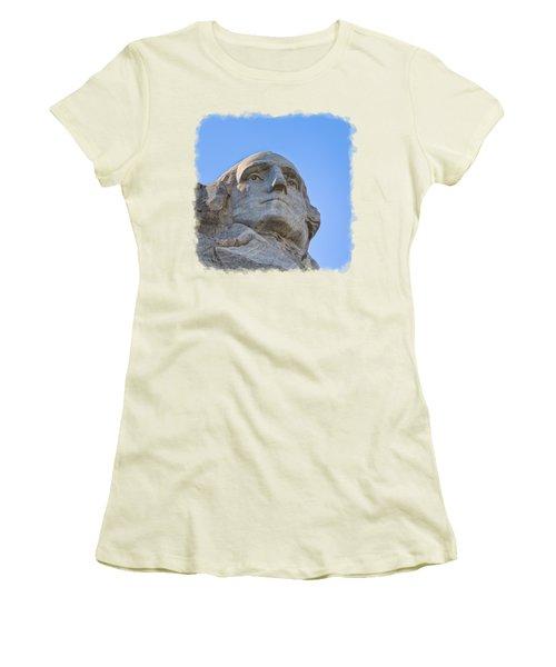 George Washington 3 Women's T-Shirt (Junior Cut) by John M Bailey