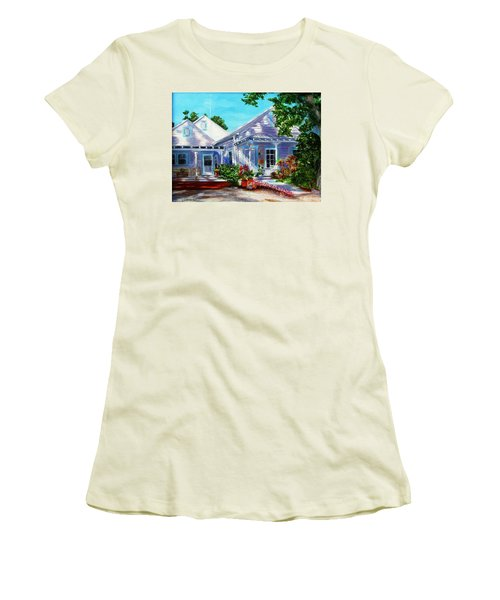 Georgia Street, Key West Women's T-Shirt (Athletic Fit)