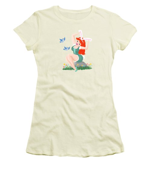 Getting Ready For Spring Women's T-Shirt (Athletic Fit)