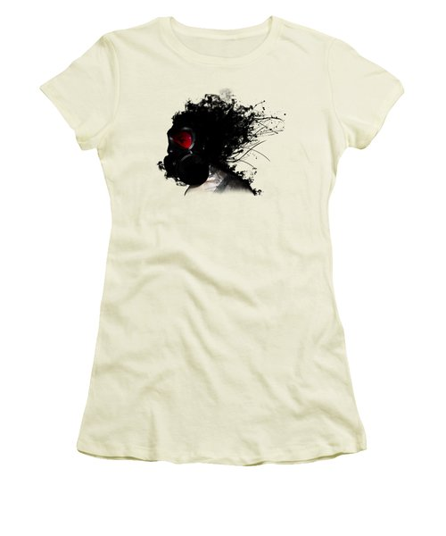 Ghost Warrior Women's T-Shirt (Junior Cut) by Nicklas Gustafsson