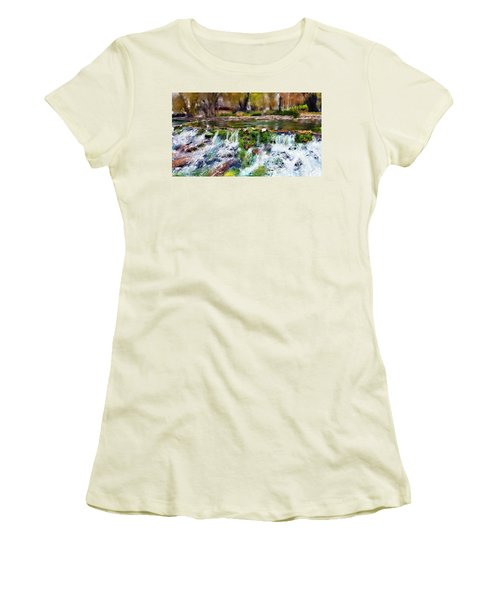 Giant Springs 1 Women's T-Shirt (Junior Cut)