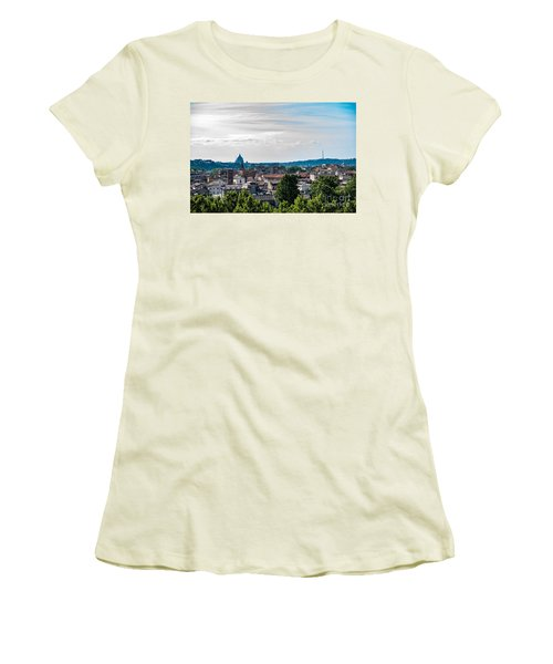Giardino Degli Aranci Women's T-Shirt (Athletic Fit)