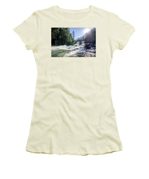 Glacier National Park Beauty Women's T-Shirt (Athletic Fit)