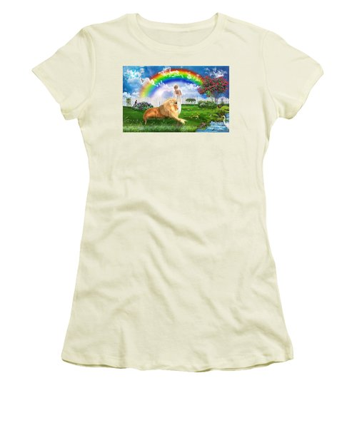 God's Perfect Promise  Women's T-Shirt (Junior Cut) by Dolores Develde