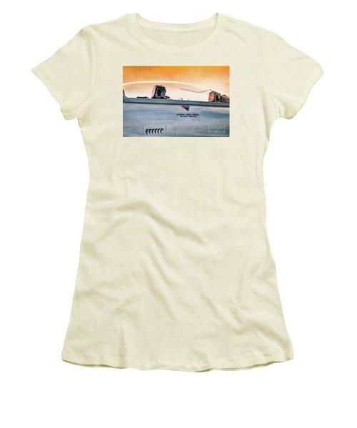 Golden Sky Women's T-Shirt (Athletic Fit)