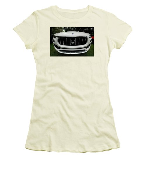 Women's T-Shirt (Athletic Fit) featuring the photograph Got A Whale Of A Tale To Tell by John Schneider