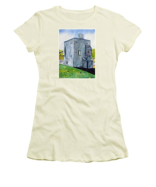 Granuaile's Castle Behind The Hill Women's T-Shirt (Athletic Fit)