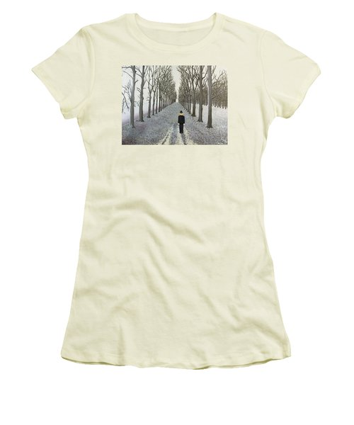 Grey Day Women's T-Shirt (Athletic Fit)