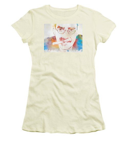 Groucho Marx Women's T-Shirt (Athletic Fit)